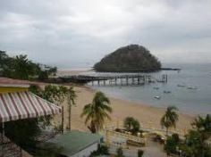 The beach boasts crystal clear water, lounge chairs, beach umbrellas, kayaks and great food.
